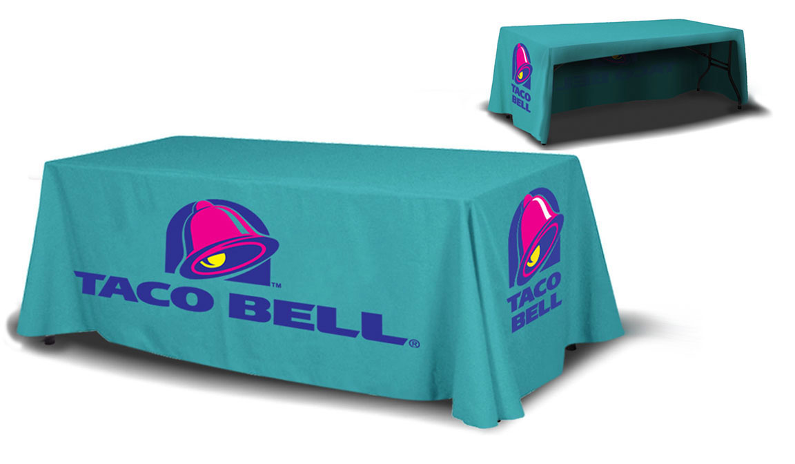 Printed Table Throw Covers