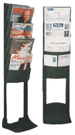 exhibit display literature stands